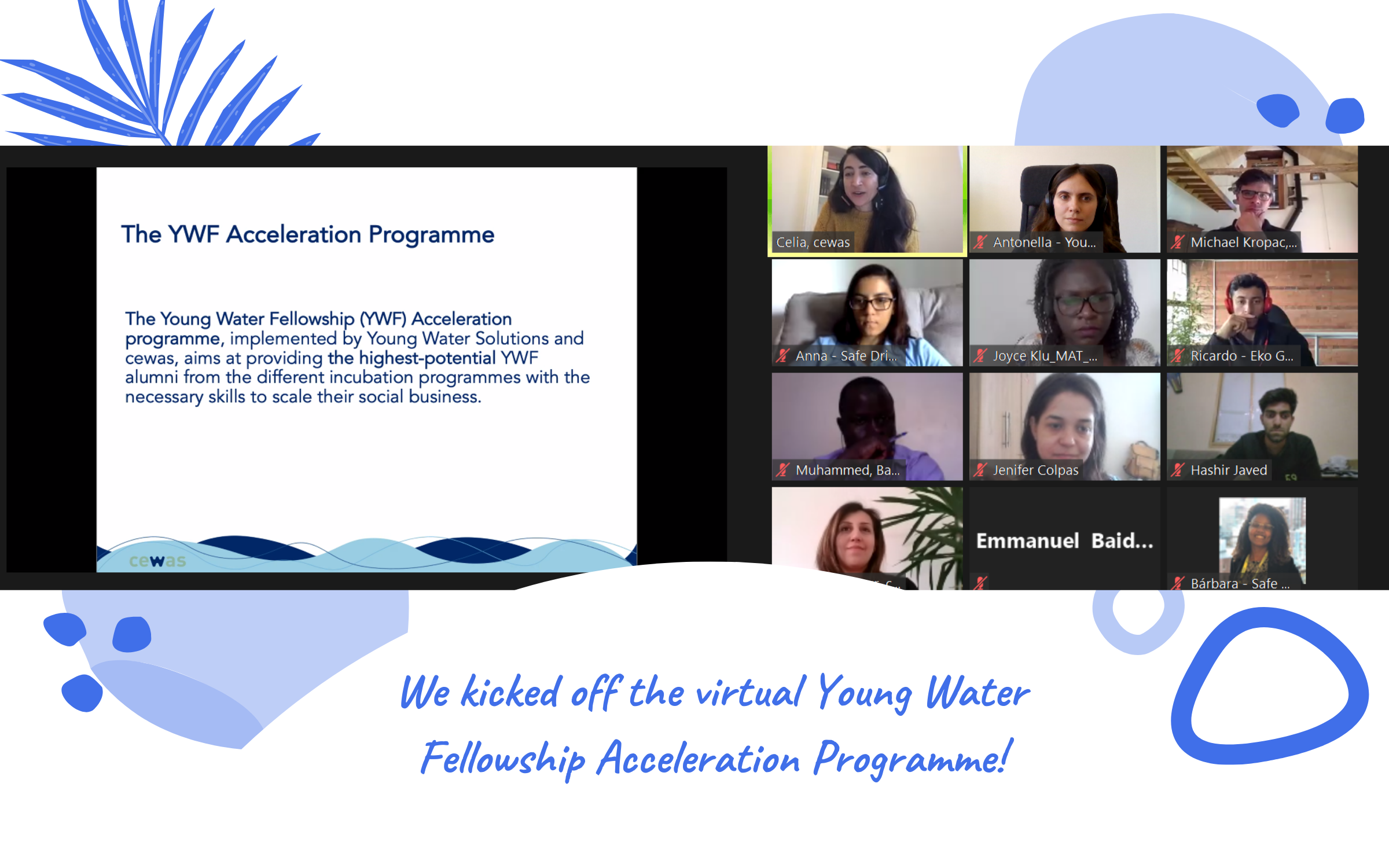 The Young Water Fellowship Acceleration programme